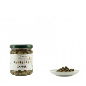Capperi in aceto in vaso da 120 gr
