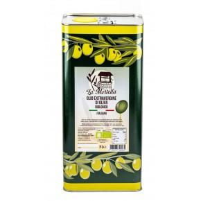 Olio Extravergine di Oliva BIO - lattina 5L