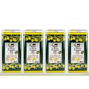 Olio EVO Bio 4 lattine da 5L